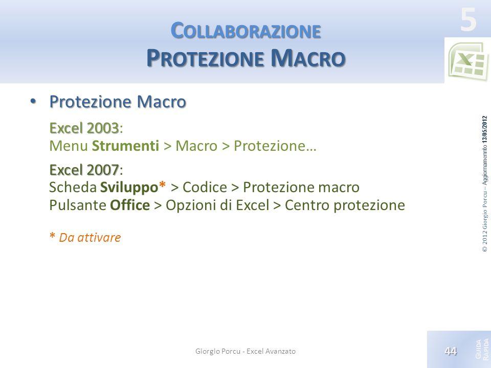 Collaborazione Protezione Macro