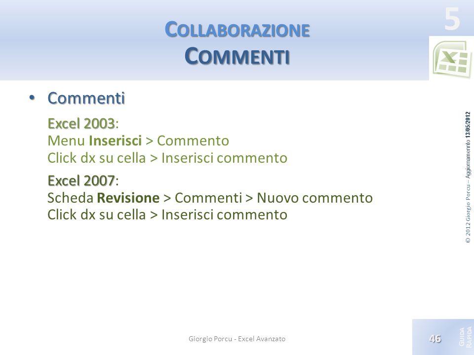 Collaborazione Commenti