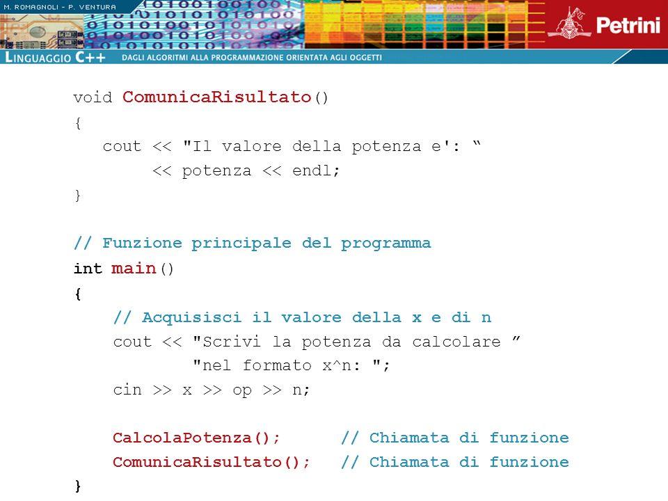 void ComunicaRisultato()