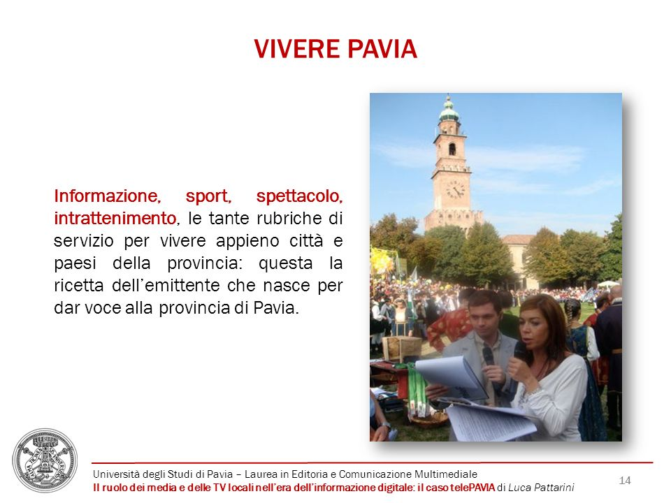 VIVERE PAVIA
