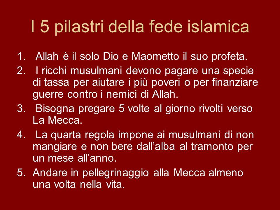 I 5 pilastri della fede islamica