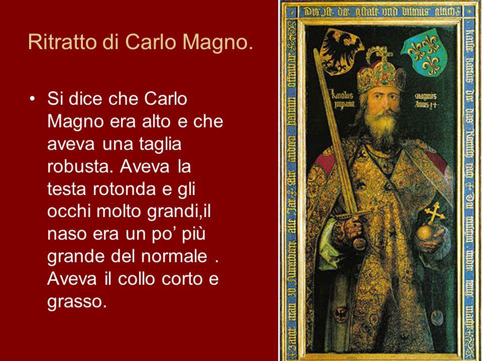 Ritratto di Carlo Magno.