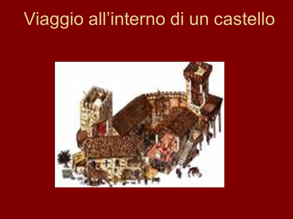Viaggio all'interno di un castello