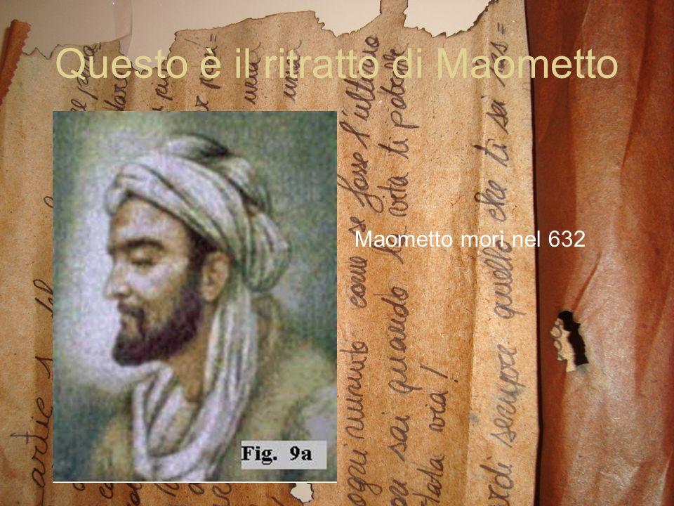 Questo è il ritratto di Maometto