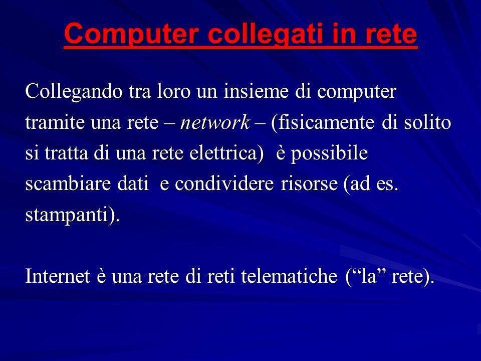 Computer collegati in rete