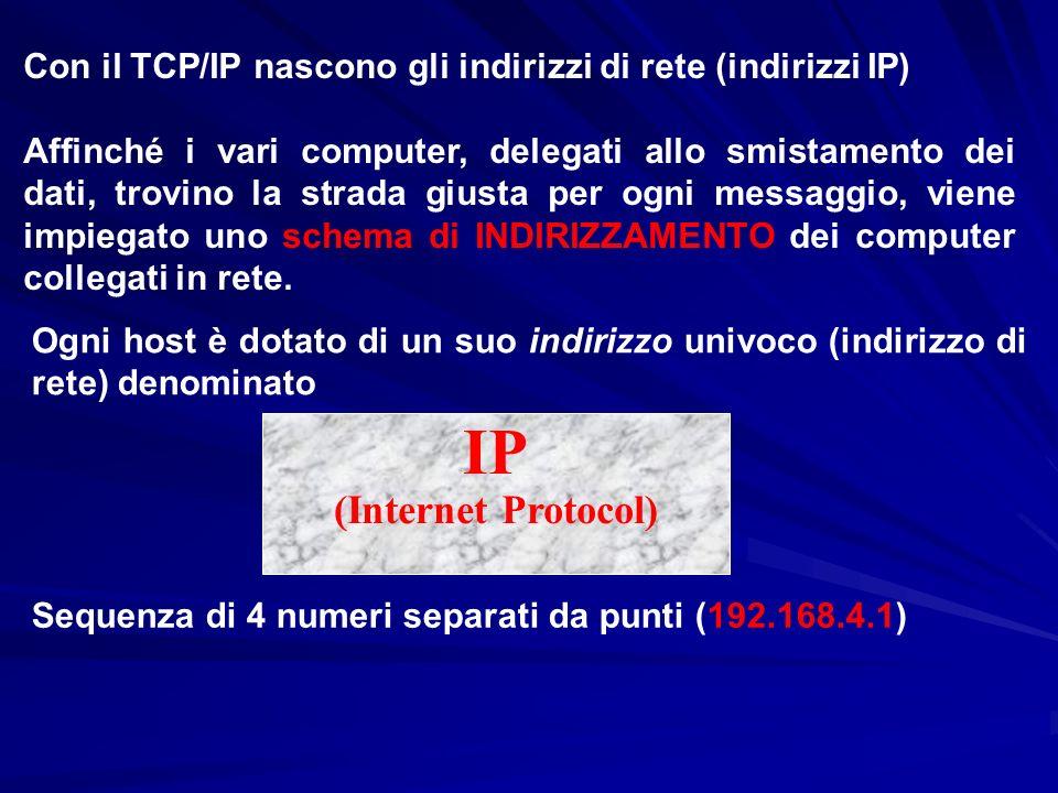 IP (Internet Protocol)