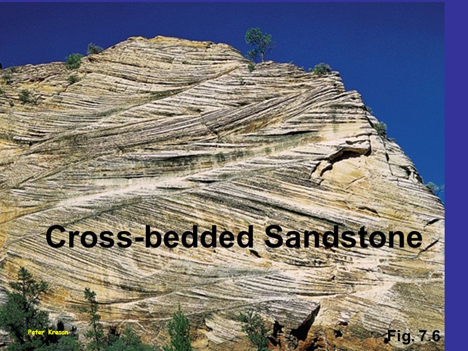 Cross-bedded Sandstone