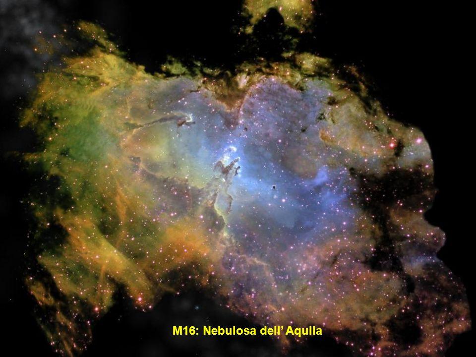 M16: Nebulosa dell' Aquila