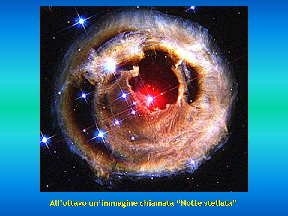 All'ottavo un'immagine chiamata Notte stellata