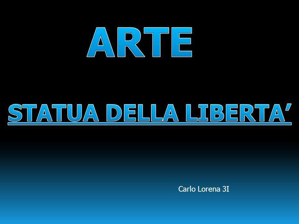 ARTE STATUA DELLA LIBERTA' Carlo Lorena 3I
