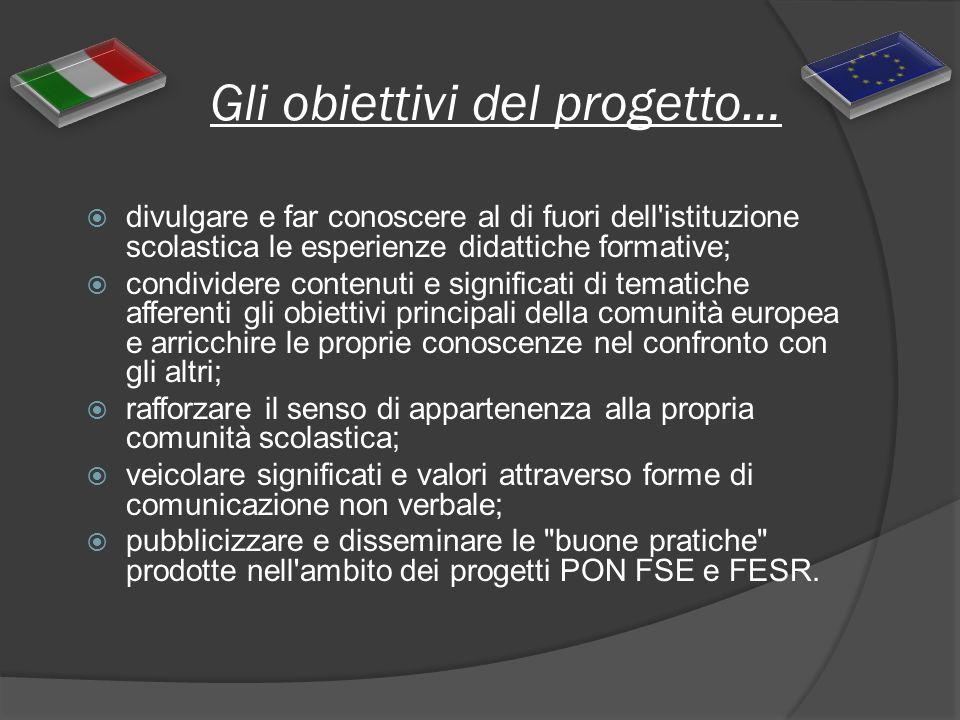 Gli obiettivi del progetto…