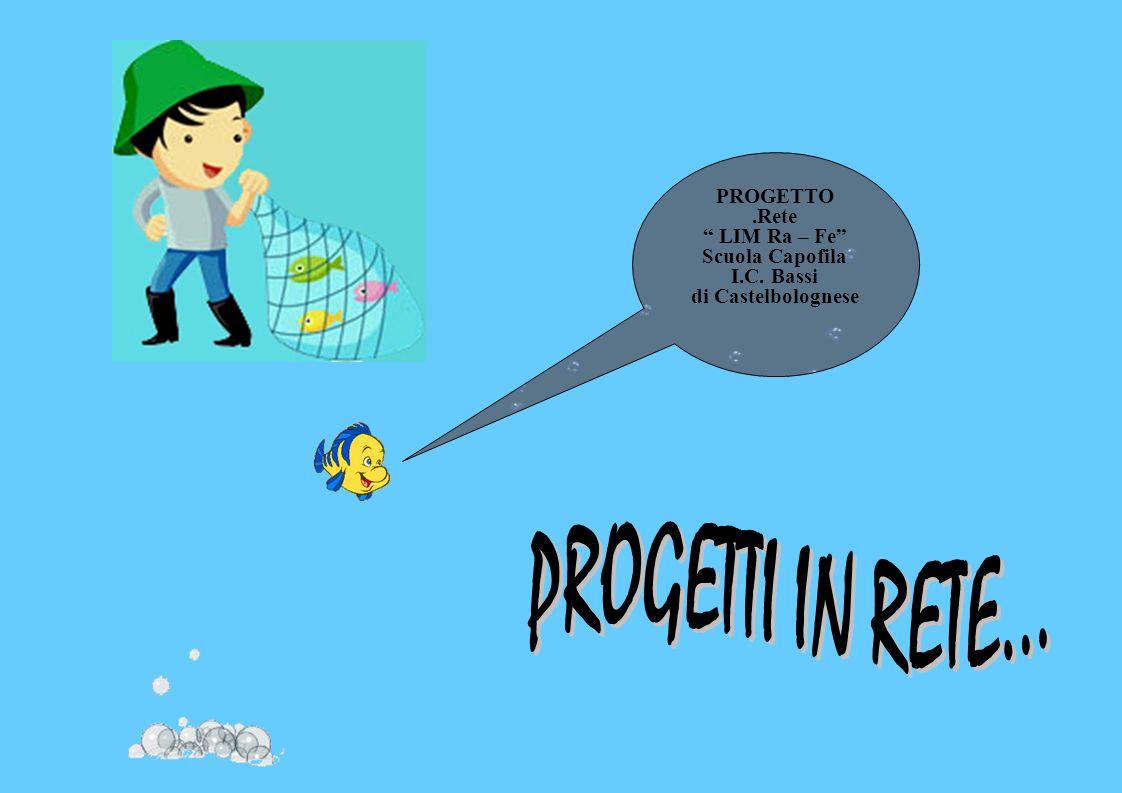 PROGETTI IN RETE... PROGETTO .Rete LIM Ra – Fe Scuola Capofila