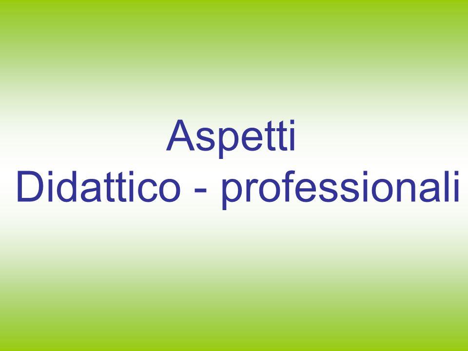 Didattico - professionali