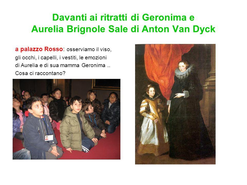 Davanti ai ritratti di Geronima e Aurelia Brignole Sale di Anton Van Dyck