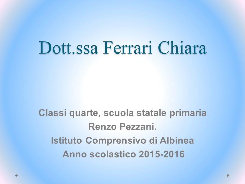 Dott.ssa Ferrari Chiara