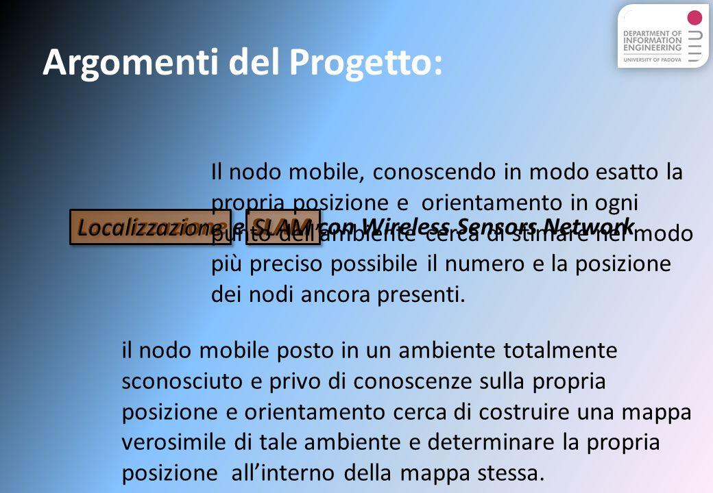 Argomenti del Progetto: