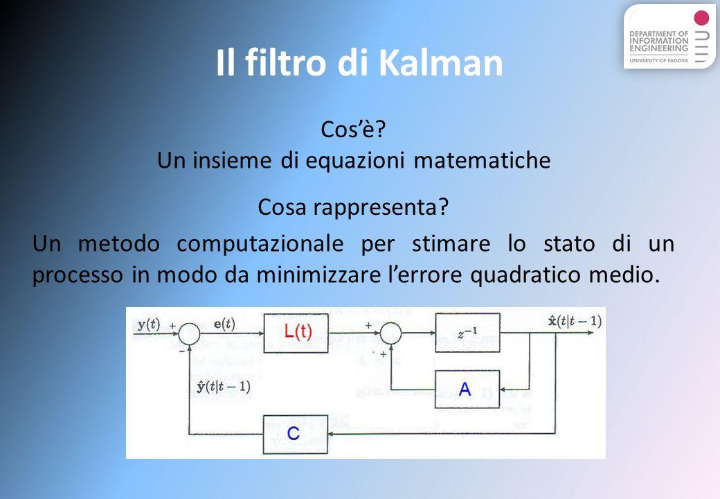 Un insieme di equazioni matematiche