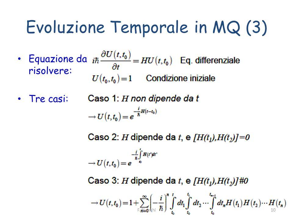 Evoluzione Temporale in MQ (3)
