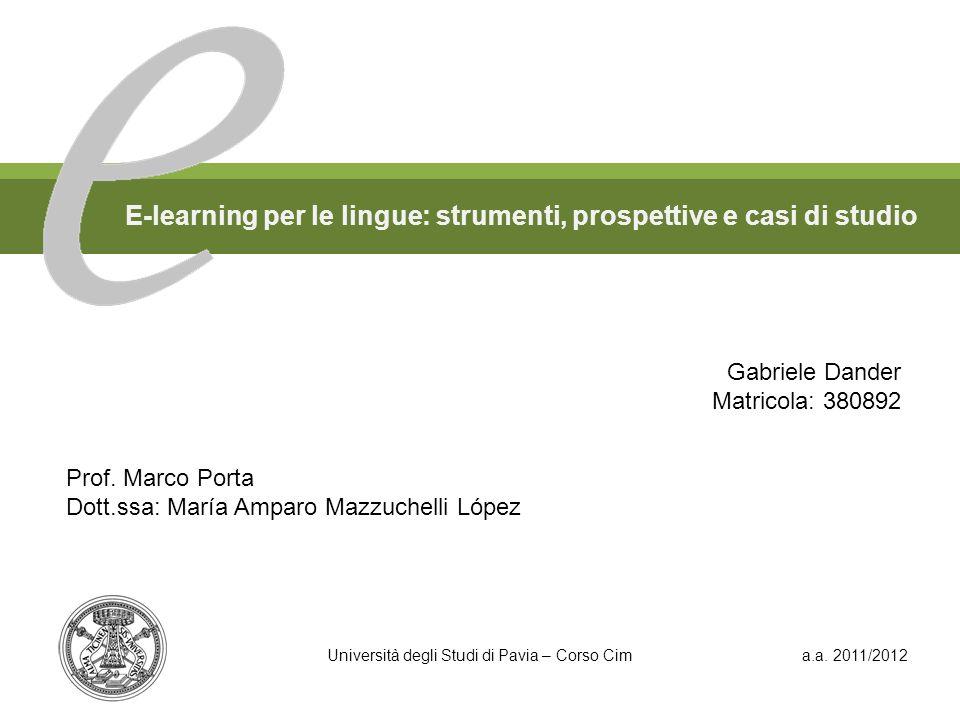 E-learning per le lingue: strumenti, prospettive e casi di studio
