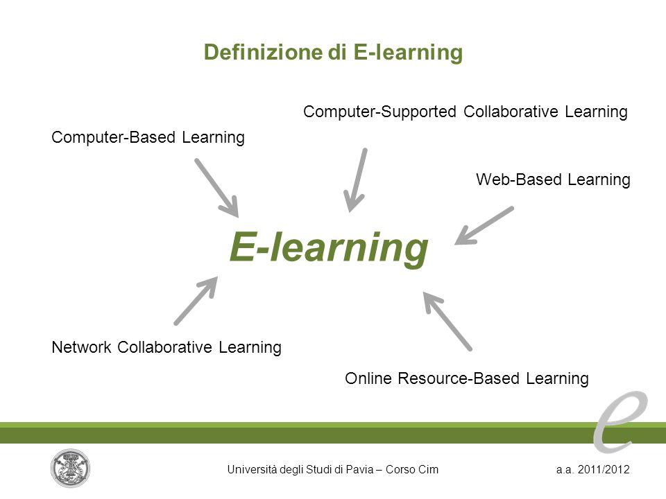 Definizione di E-learning