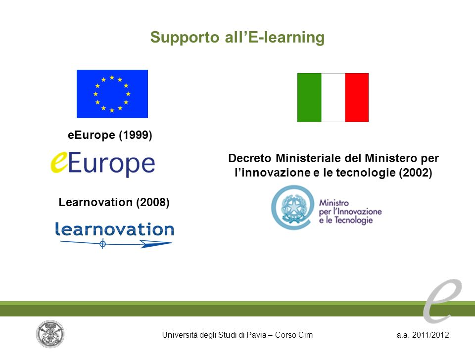 Supporto all'E-learning