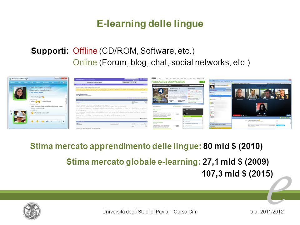 E-learning delle lingue