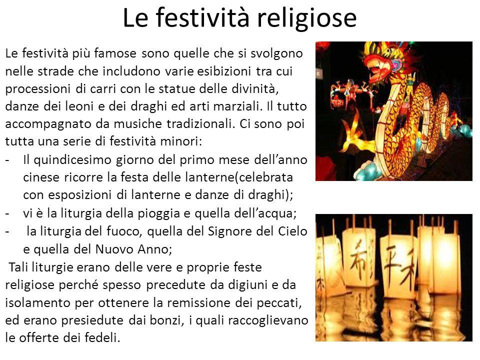 Le festività religiose