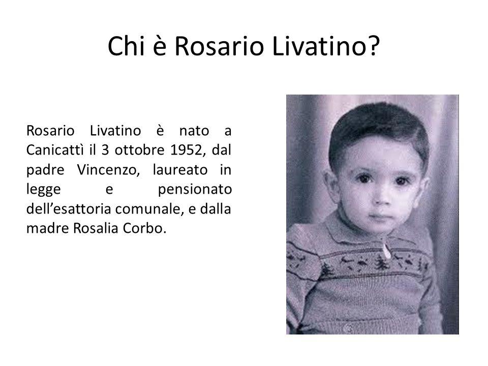 Chi è Rosario Livatino