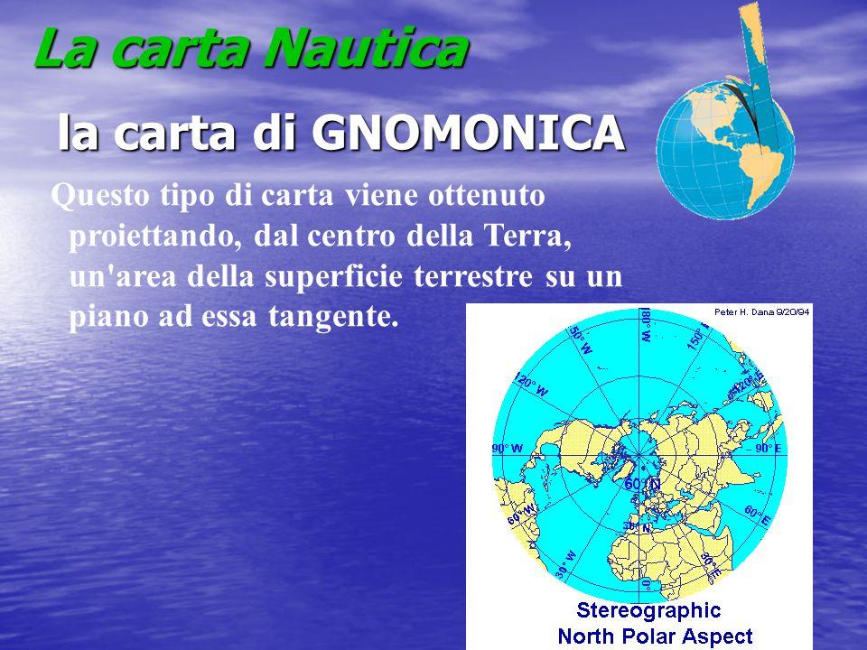 La carta Nautica la carta di GNOMONICA