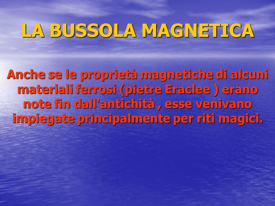 LA BUSSOLA MAGNETICA