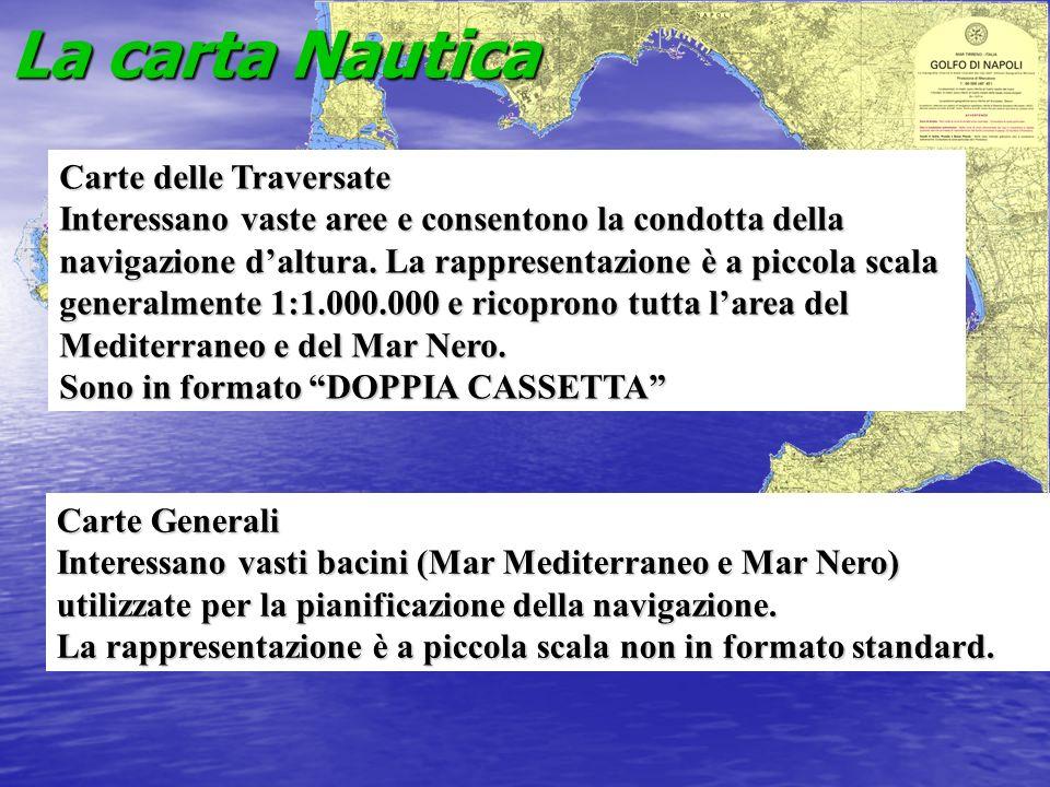 La carta Nautica Carte delle Traversate