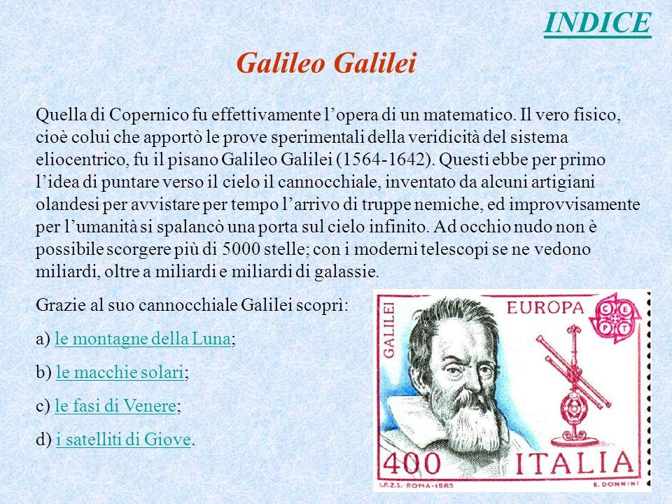 INDICE Galileo Galilei