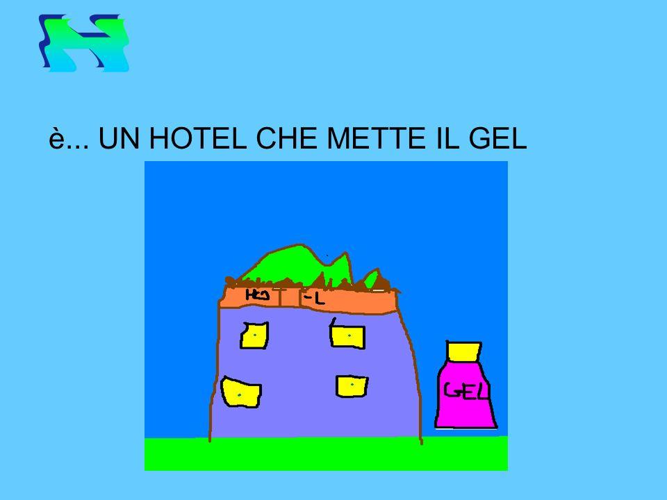 H è... UN HOTEL CHE METTE IL GEL