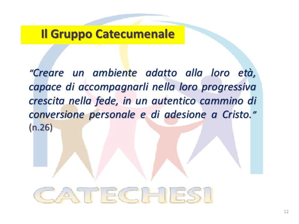 Il Gruppo Catecumenale
