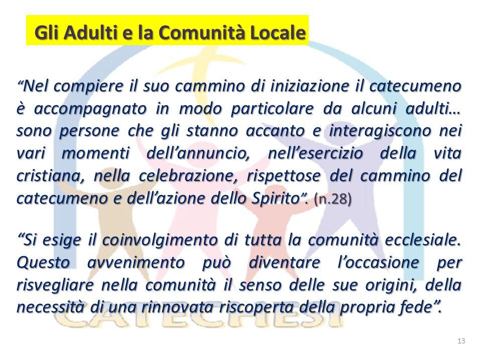 Gli Adulti e la Comunità Locale