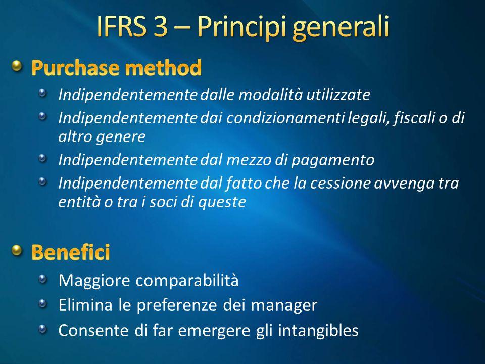 IFRS 3 – Principi generali
