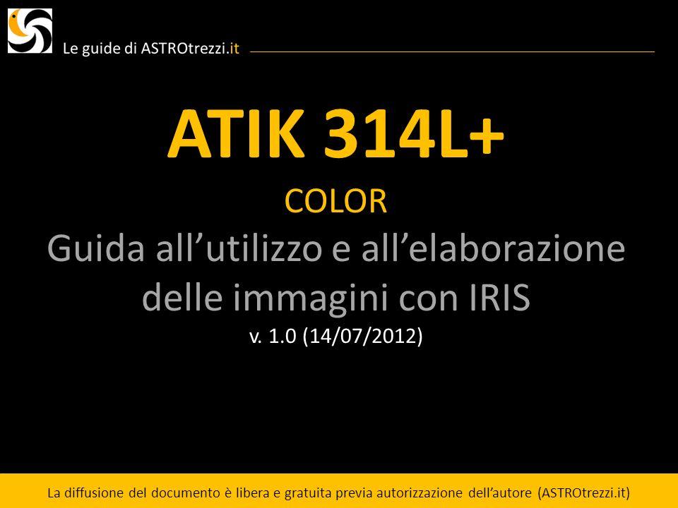 Guida all'utilizzo e all'elaborazione delle immagini con IRIS
