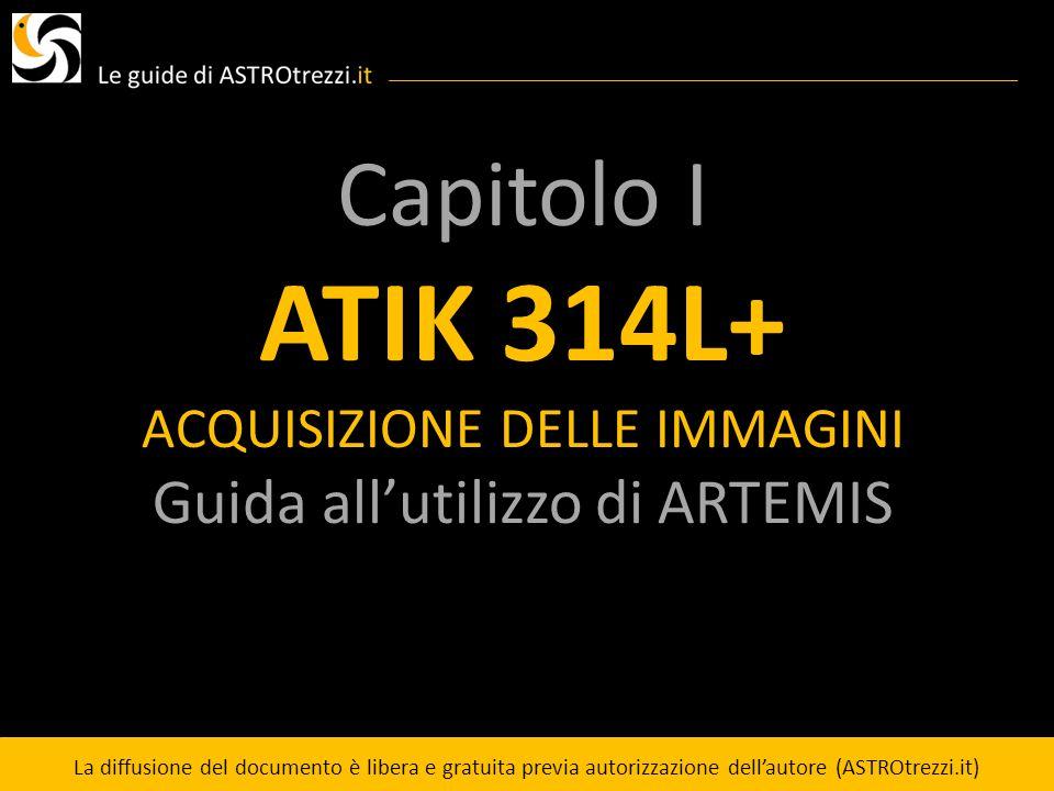 ATIK 314L+ Capitolo I Guida all'utilizzo di ARTEMIS
