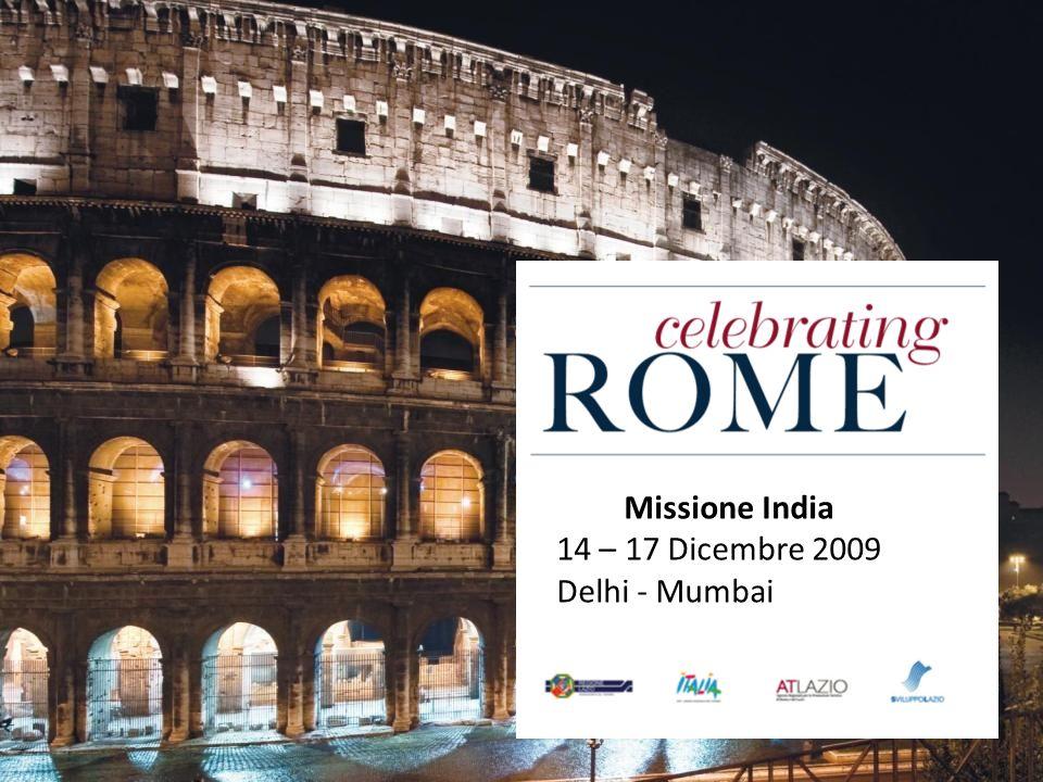 Missione India 14 – 17 Dicembre 2009 Delhi - Mumbai