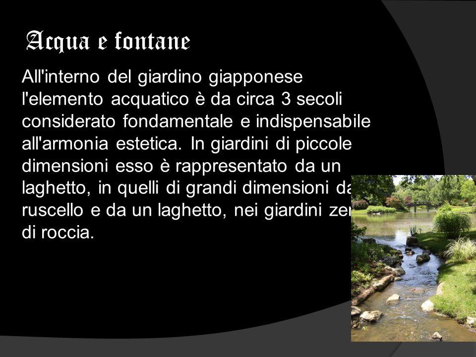 Acqua e fontane