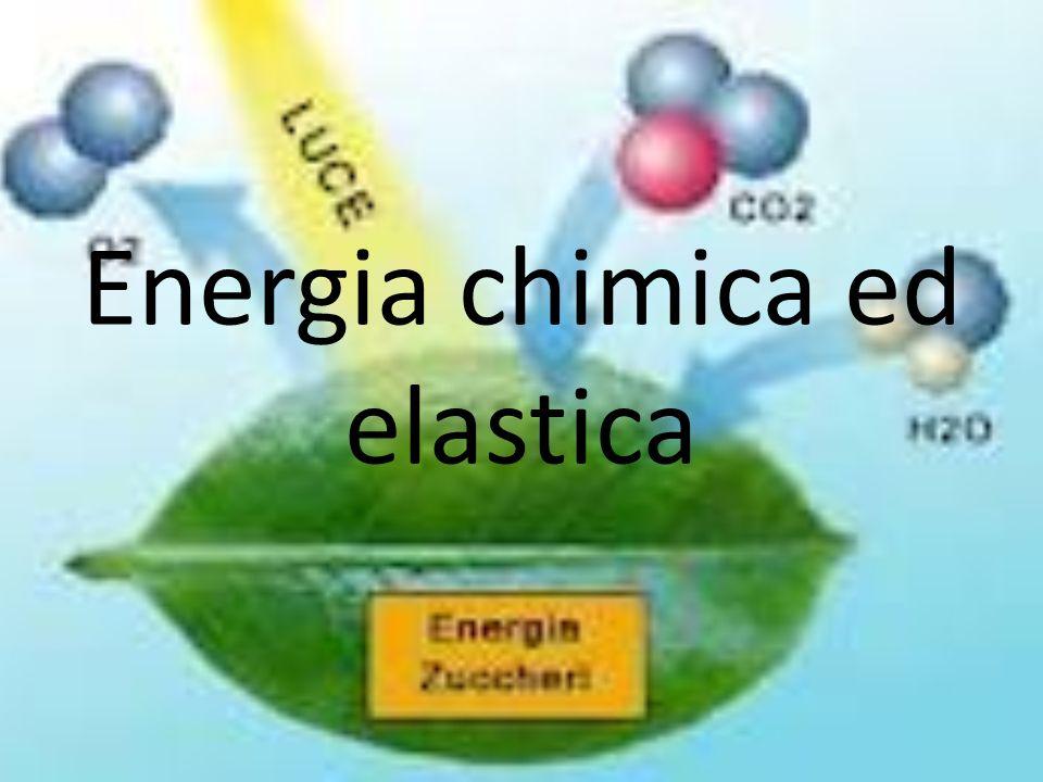 Energia chimica ed elastica