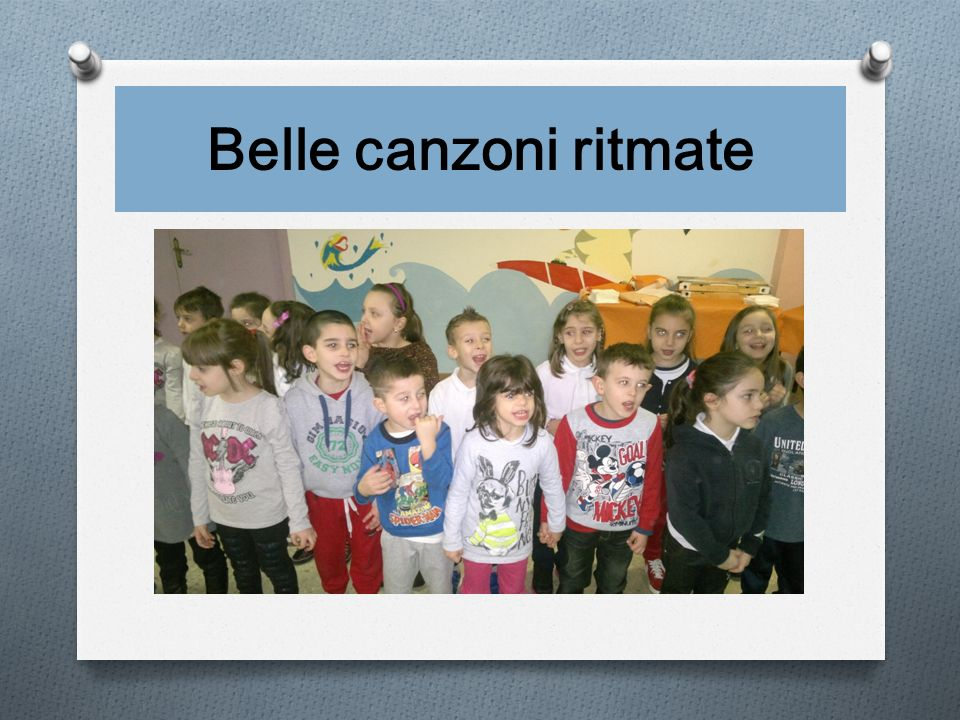 Belle canzoni ritmate