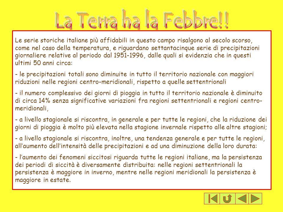 La Terra ha la Febbre!!