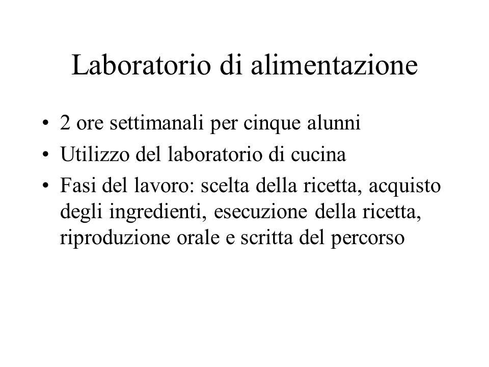 Laboratorio di alimentazione