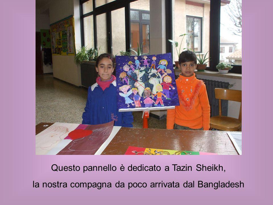 Questo pannello è dedicato a Tazin Sheikh,