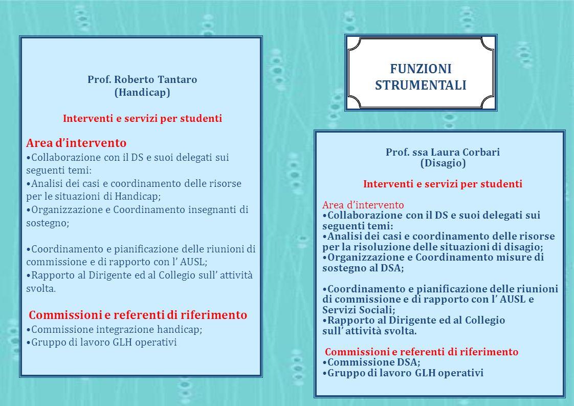 Interventi e servizi per studenti Interventi e servizi per studenti