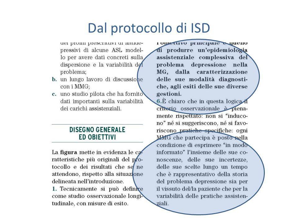 Dal protocollo di ISD