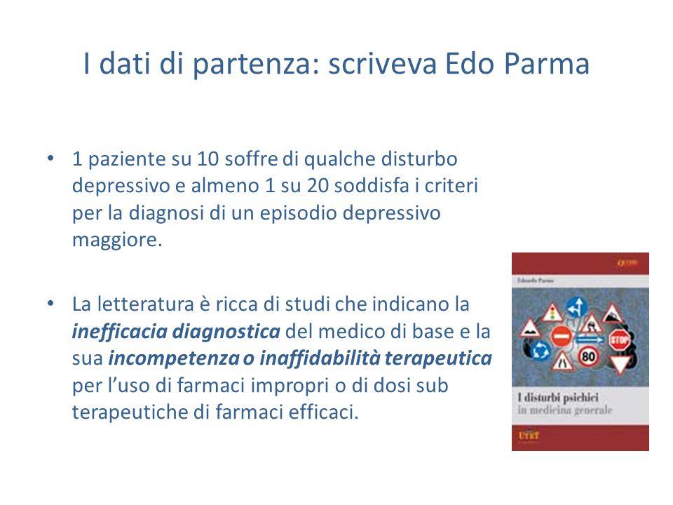 I dati di partenza: scriveva Edo Parma