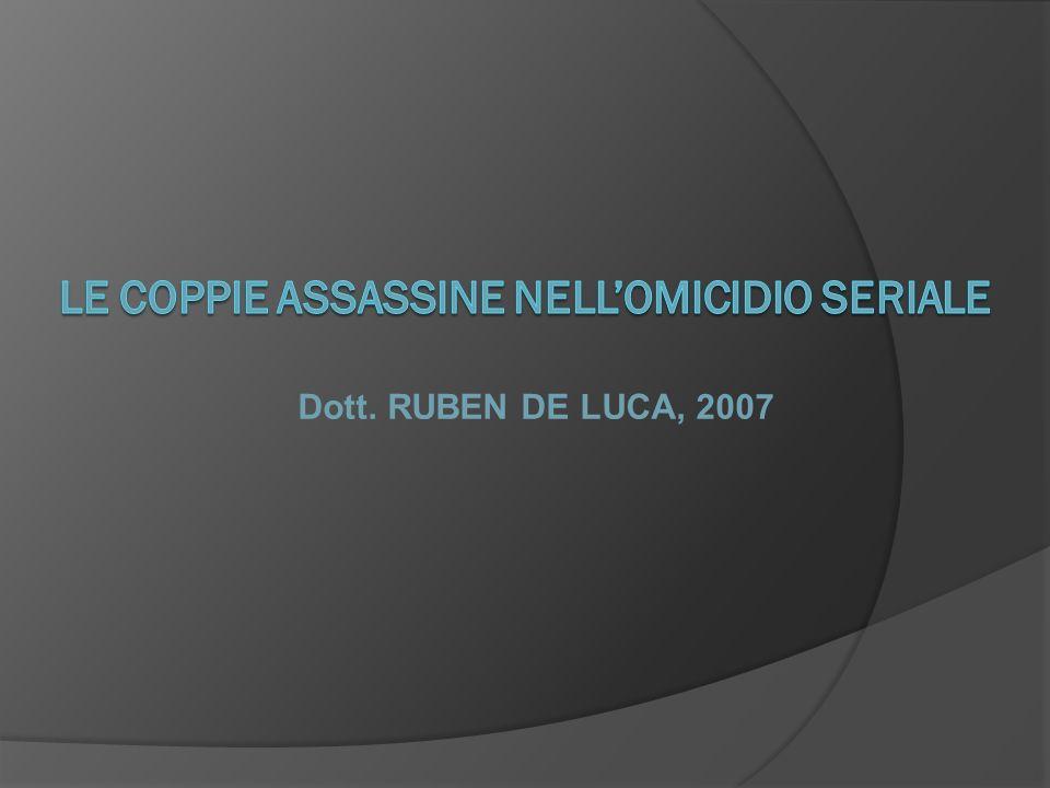 LE COPPIE ASSASSINE NELL'OMICIDIO SERIALE
