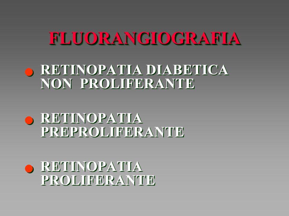 FLUORANGIOGRAFIA RETINOPATIA DIABETICA NON PROLIFERANTE